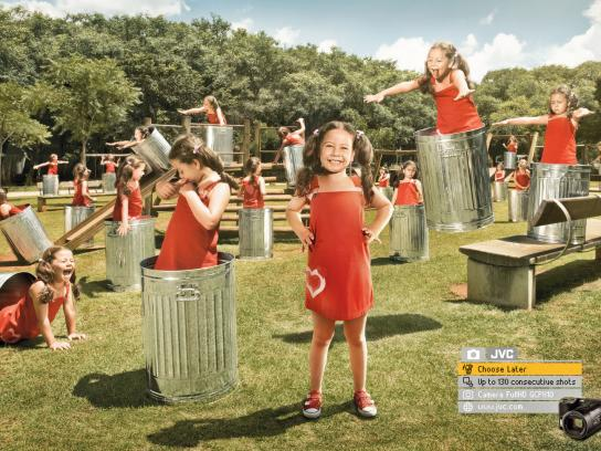 JVC Print Ad -  Choose Later, Playground