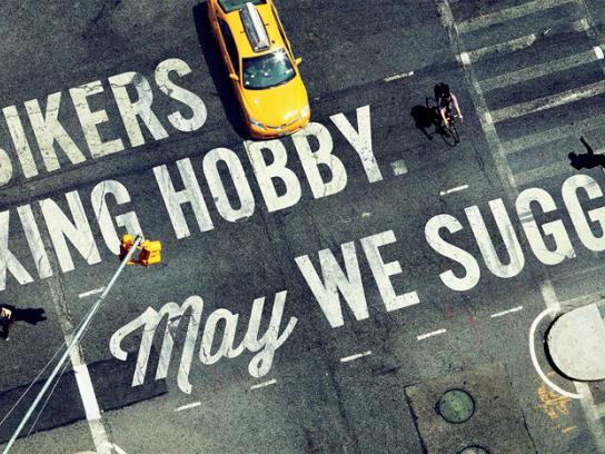BikeNYC Outdoor Ad -  Relaxing Hobby
