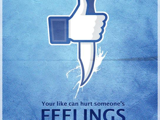 Facebook Print Ad -  Feelings