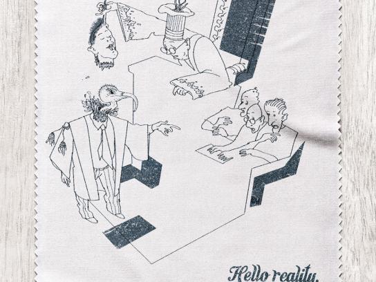 Monocle Print Ad -  Vulture