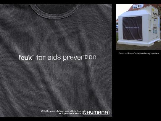 Humana Outdoor Ad -  FCUK