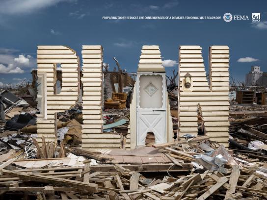 FEMA Print Ad -  Hurricane