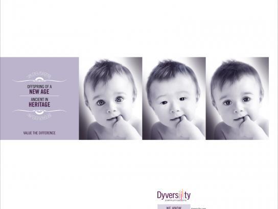 Dyversity Print Ad -  Baby