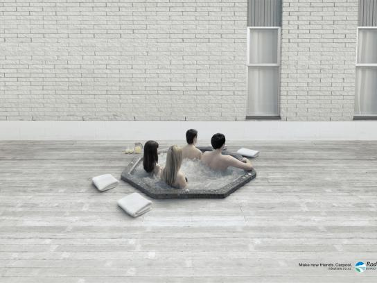 Rodney District Council Print Ad -  Jacuzzi