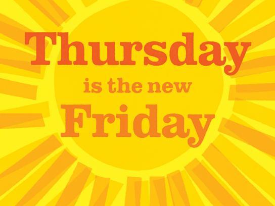Tropicana Print Ad -  Your Daily Ray of Sunshine, Thursday