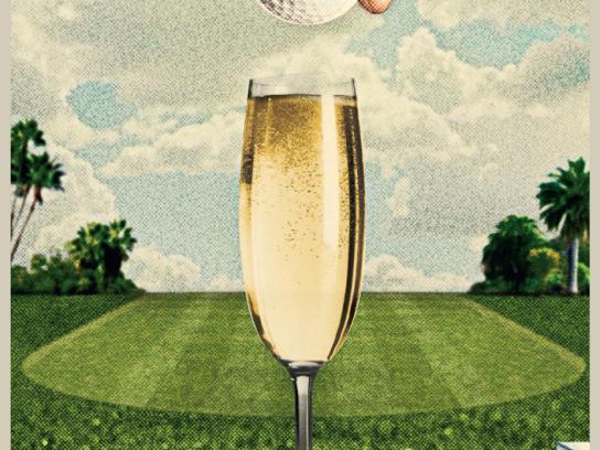 Honda Print Ad -  Champagne