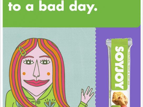 SoyJoy Print Ad -  Boosts resistance