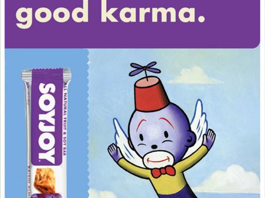 SoyJoy Print Ad -  Good karma