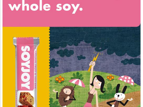 SoyJoy Print Ad -  Dark cloud