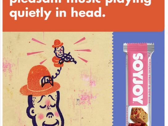 SoyJoy Print Ad -  Pleasant music