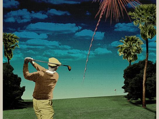 Honda Print Ad -  Fireworks