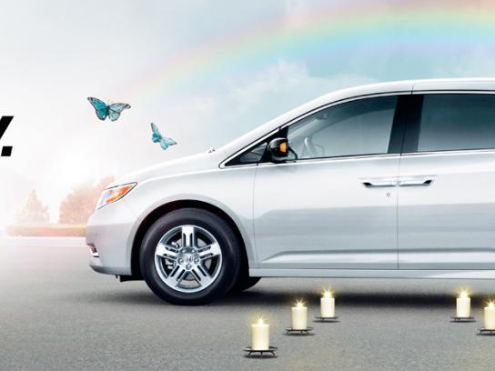 Honda Outdoor Ad -  Serenity