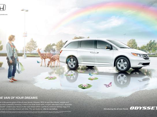 Honda Print Ad -  Serenity