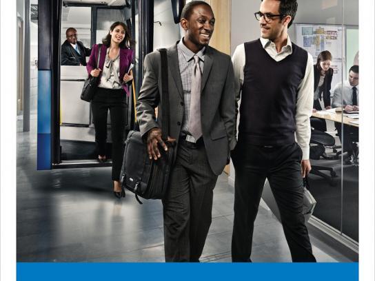 York Region Transit Print Ad -  Work
