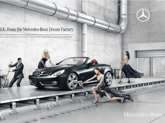 Mercedes Print Ad -  Dream Factory, 3