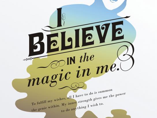 Presidium Print Ad -  I believe in the magic in me