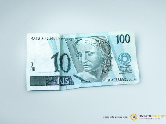 Barato Coletivo Print Ad -  100 reais