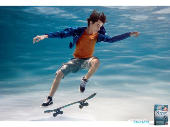 3M Print Ad -  Skateboard