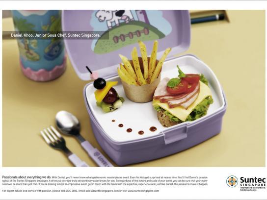 Suntec Print Ad -  Lunchbox