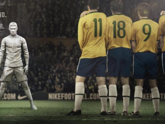Nike Outdoor Ad -  Write the Future, Ronaldo