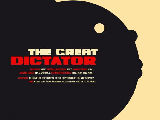 GU Publisher Outdoor Ad -  Stop the Drama, The Great Dictator