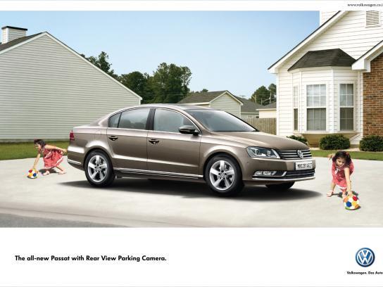 Volkswagen Print Ad -  Double, Kid