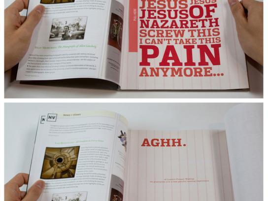 Lonni's Punani Waxing Print Ad -  Aghh