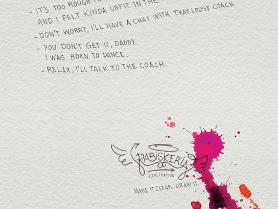 Rabiskeria Print Ad -  Rugby