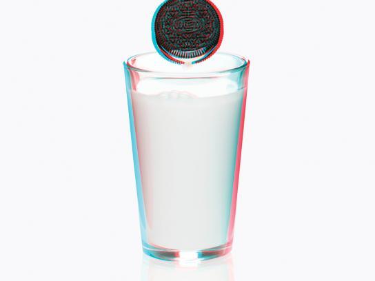 Oreo Print Ad -  3D