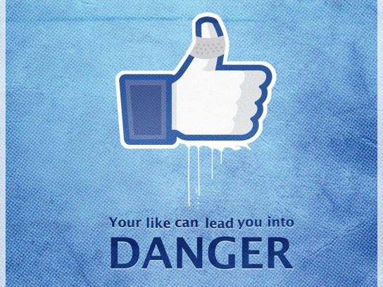 Facebook Print Ad -  Danger