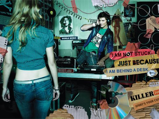 Killer Jeans Print Ad -  DJ