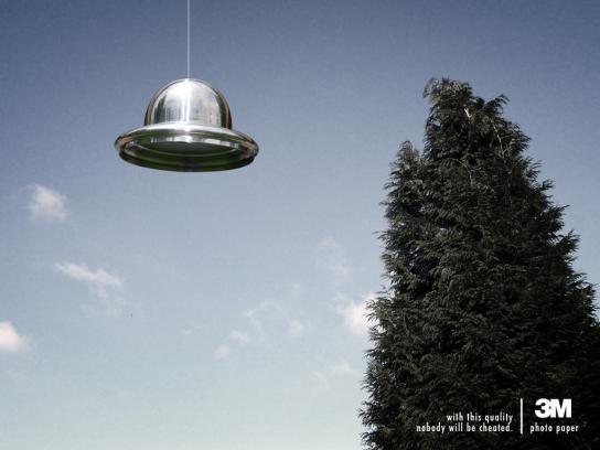 3M Print Ad -  UFO