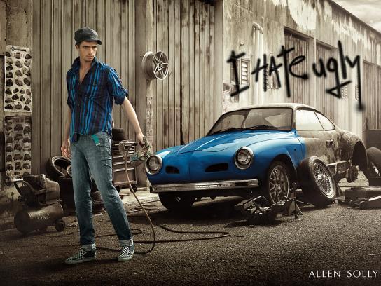 Allen Solly Print Ad -  Car