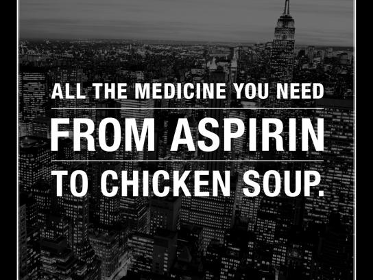 Duane Reade Print Ad -  Chicken soup