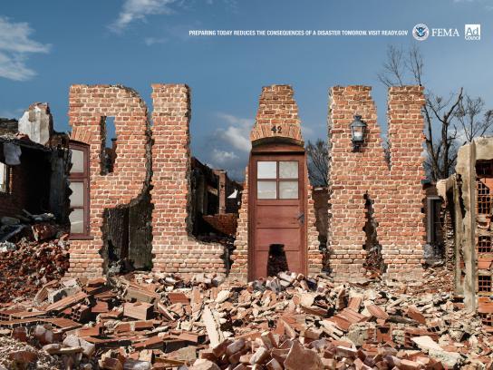FEMA Print Ad -  Earthquake