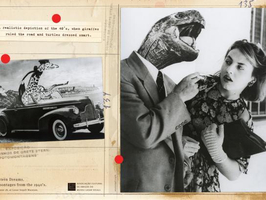 Lasar Segall Print Ad -  40s