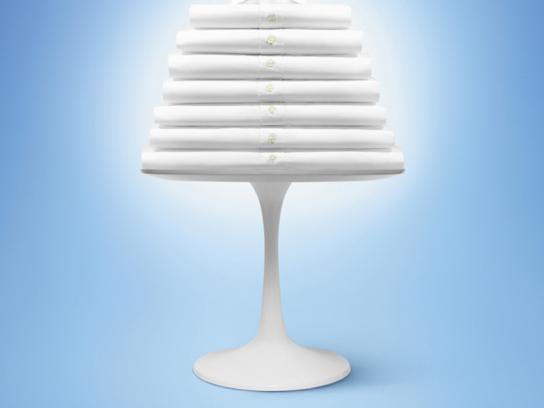Ariel Print Ad -  Lamp