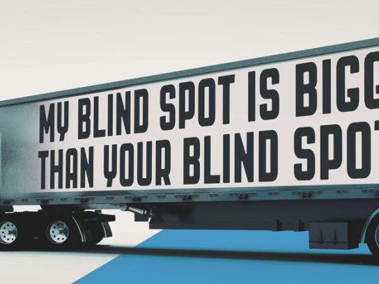 Colorado State Patrol Outdoor Ad -  Blind spot