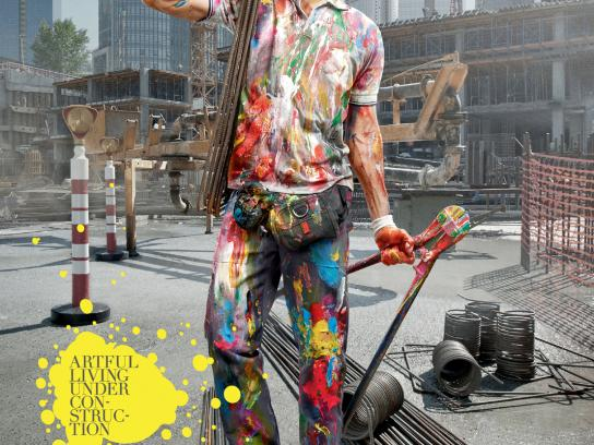 Bay Insaat Print Ad -  Artful Construction, 1
