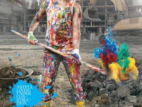 Bay Insaat Print Ad -  Artful Construction, 2