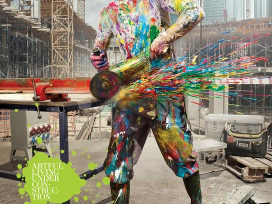 Bay Insaat Print Ad -  Artful Construction, 3