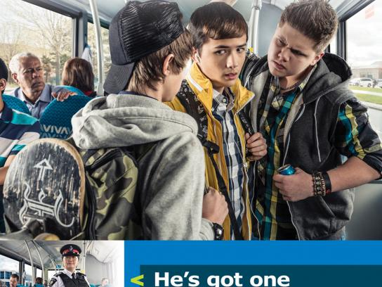 York Region Transit Outdoor Ad -  It's Personal, Physical