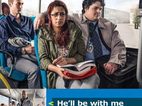 York Region Transit Outdoor Ad -  It's Personal, Sexual