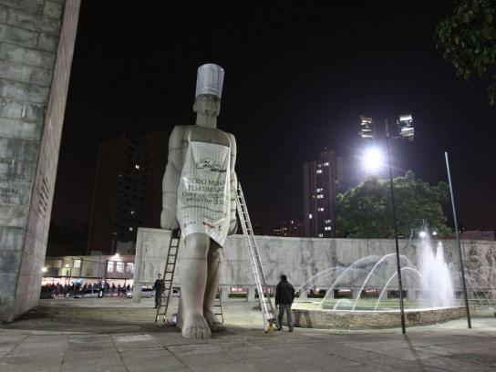 Gazeta do Povo Outdoor Ad -  Chef Challenge