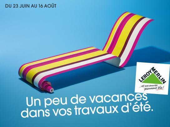 Leroy Merlin Print Ad -  Deckchair