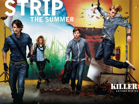 Killer Jeans Print Ad -  Strip, 4