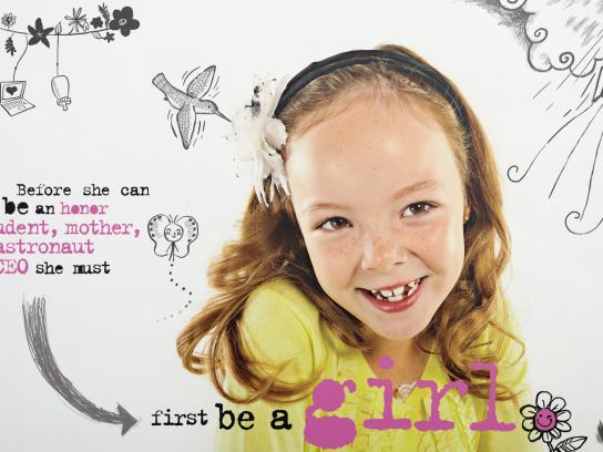 Girl Scouts Print Ad -  It's a Girl's World, 4