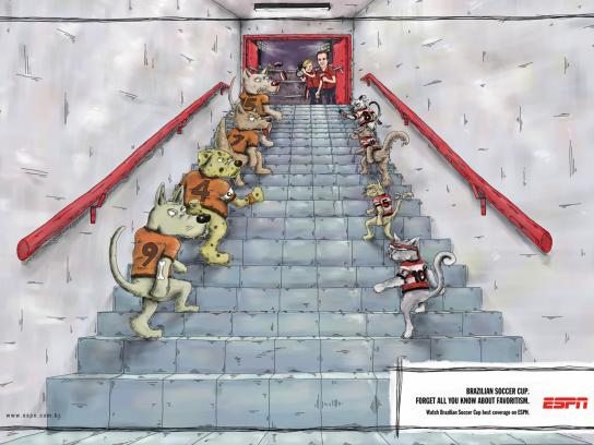 ESPN Print Ad -  Animals, 4