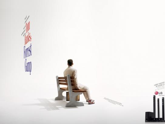 LG Print Ad -  Different Sides, Forrest