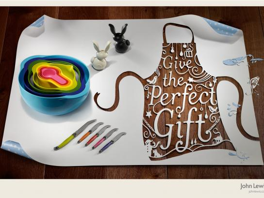 John Lewis Print Ad -  Give the perfect Gift', Bowls